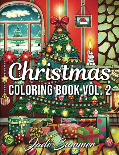 9781730929007: Christmas Coloring Book: An Adult Coloring Book with Fun, Easy, and Relaxing Designs (Volume 2) (Christmas Coloring Books)