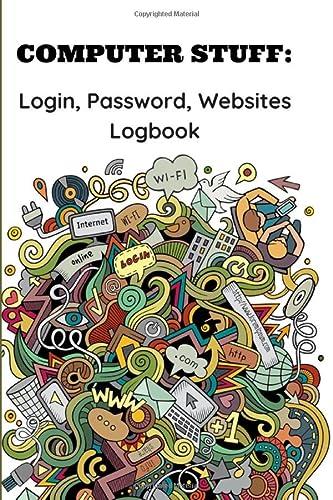 COMPUTER STUFF: Login, Password, Websites Logbook: BOOKS, JUSTIN