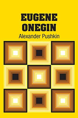 9781731702807: Eugene Onegin