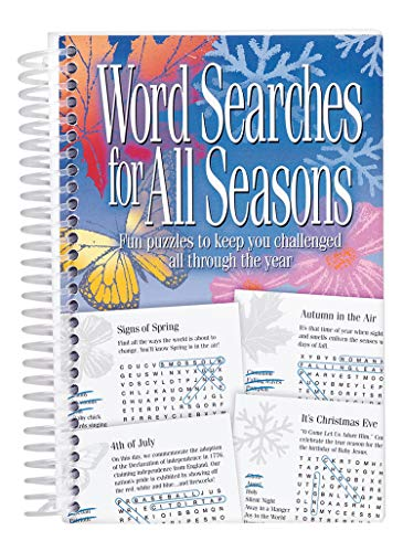 9781732578197: Word Searches for All Seasons