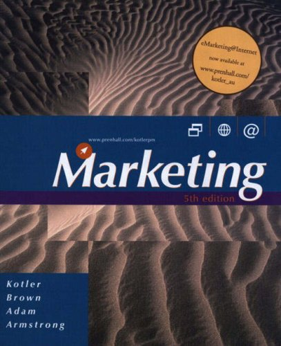 Marketing - 5th Edition: Kotler, Philip; Brown,