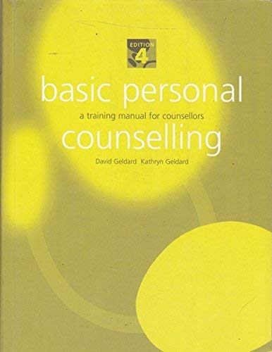 9781740095747: Basic Personal Counselling: a Training Manual for Counsellors: A Training Manual for Counsellors