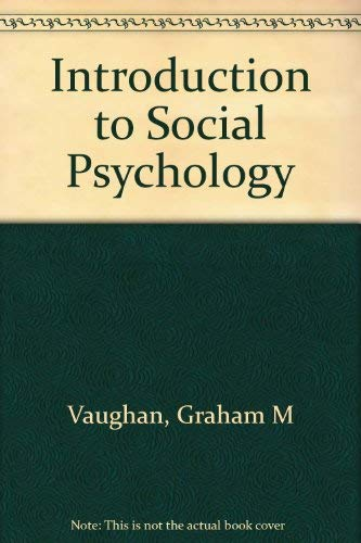 Michael hogg graham vaughan abebooks introduction to social psychology vaughan graham and fandeluxe Image collections