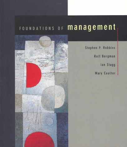 9781740098120: Foundations of Management 2003 Australian