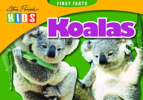9781740219464: First Facts: Koalas (Steve Parish Kids)
