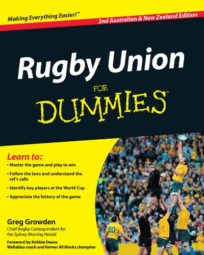 9781740310734: Rugby Union For Dummies