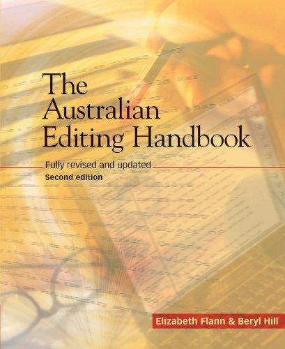 9781740310888: Australian Editing Handbook