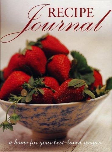 9781740452540: Recipe Journal