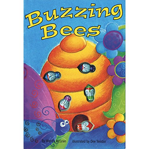 9781740471343: Buzzing Bees (Interactive Button Board Books)