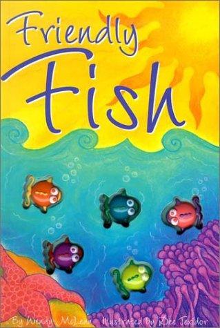 9781740471565: Friendly Fish (Interactive Button Board Books)