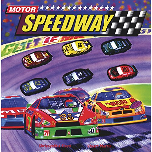 9781740473798: Motor Speedway (Interactive Giant Button Book!)