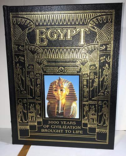 Egypt: Land and Lives of the Pharaohs Revealed (w/CD): Bolliger, Belinda; Forbes, Scott; ...