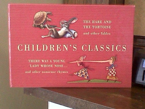 9781740480963: Children's Classics Box Set: The Hare And The Tortoise And Other Fables/ There Was A Young Lady Whose Nose And Other Nonsense Rhymes