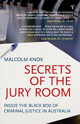9781740512244: Secrets of the Jury Room: Inside the Black Box Criminal Justice in Australia