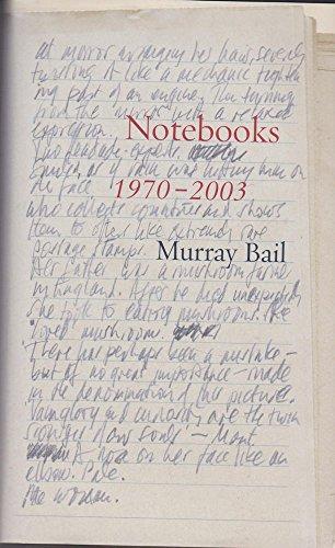 Notebooks : 1970 - 2003 - signiert: Bail, Murray