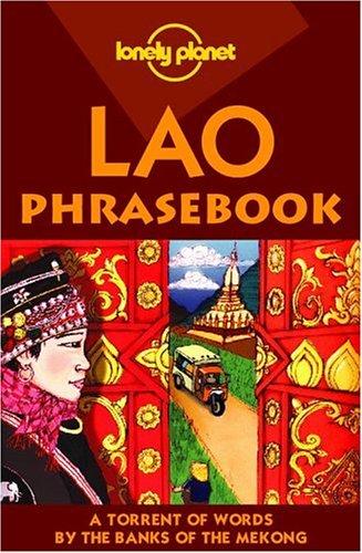 9781740591683: Lonely Planet Lao Phrasebook