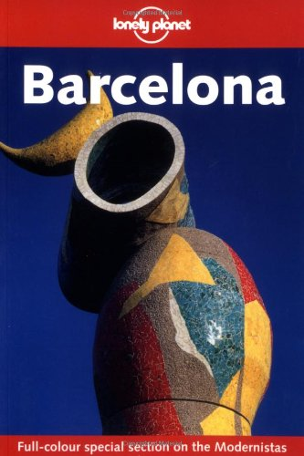 9781740593410: Lonely Planet Barcelona