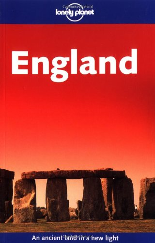 9781740593427: England (Lonely Planet Travel Guides)