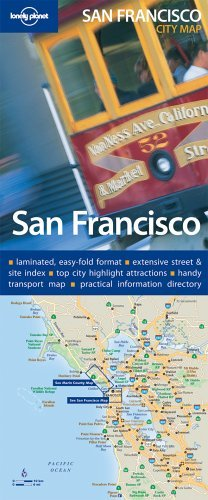 9781740597227: San Francisco new map 1 (City Map)