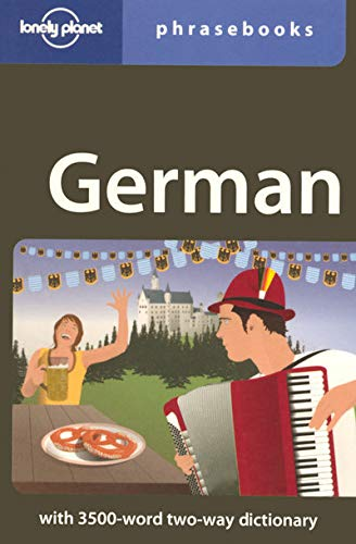 9781740599801: German: Lonely Planet Phrasebook