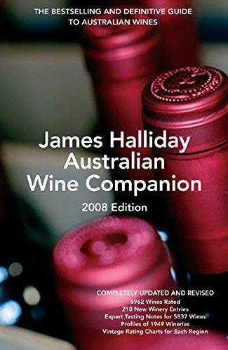 James Halliday Australian Wine Companion 2008: James Halliday