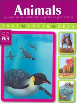 9781740896269: Animals: Jumbo-Sized Fact Cards and Fun Games (Fast Facts Deck Series - July 2008)