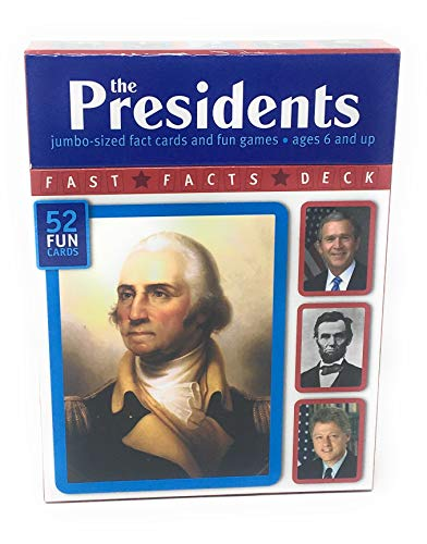 9781740896290: The Presidents: Jumbo-Sized Fact Cards and Fun Games (Fast Facts Deck Series) (Fast Facts Deck Series - July 2008)