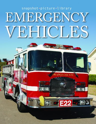 9781740898577: Emergency Vehicles (Snapshot Picture Library Series)