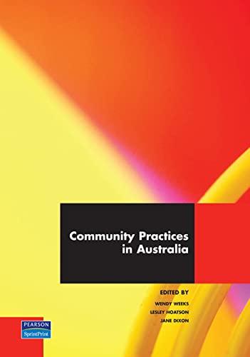 9781740910330: Community Practices in Australia