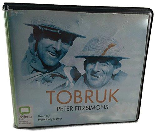 Tobruk - Unabridged Audio Book on CD: Fitzsimmons, Peter