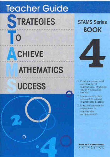 Strategies to Achieve Mathematic Success: Teacher's Guide Bk.4 (1741011809) by Robert Frost