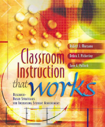 9781741012538: Classroom Instruction That Works: Research-based Strategies for Increasing Student Achievement