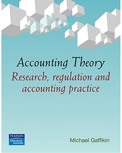 9781741030709: Accounting Theory