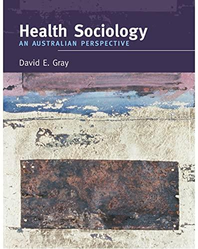 9781741032369: Health Sociology: An Australian Perspective