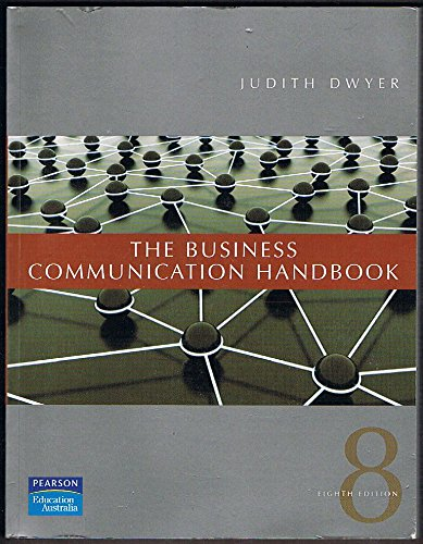 9781741033922: Business Communication Handbook