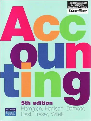 9781741038651: Accounting