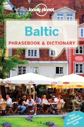9781741040142: Lonely Planet Baltic Phrasebook & Dictionary