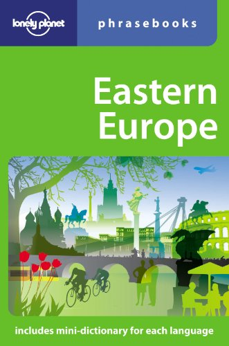 9781741040562: Eastern Europe: Lonely Planet Phrasebook