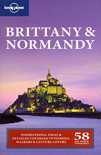 9781741042382: Lonely Planet Brittany & Normandy (Regional Travel Guide)