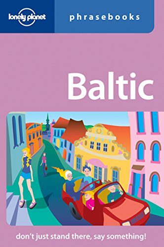 9781741046120: Lonely Planet Baltic Phrasebook (Lonely Planet Phrasebook)