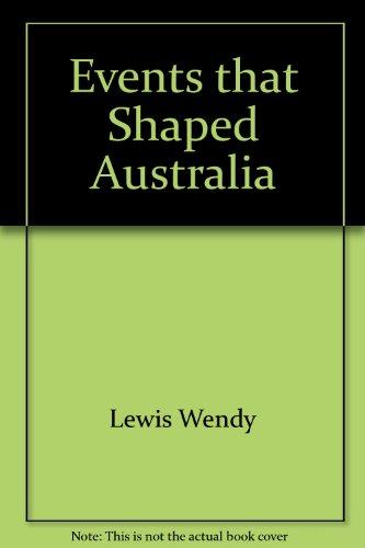 9781741104929: Events That Shaped Australia