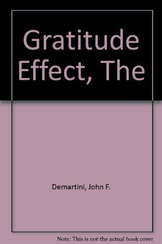 9781741107296: The Gratitude Effect