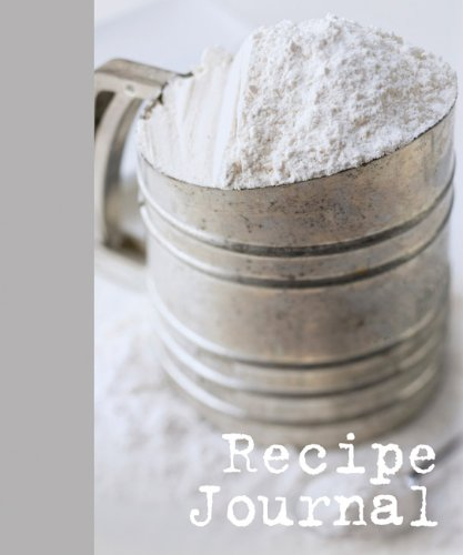 9781741108842: Large Recipe Journal - Sifter