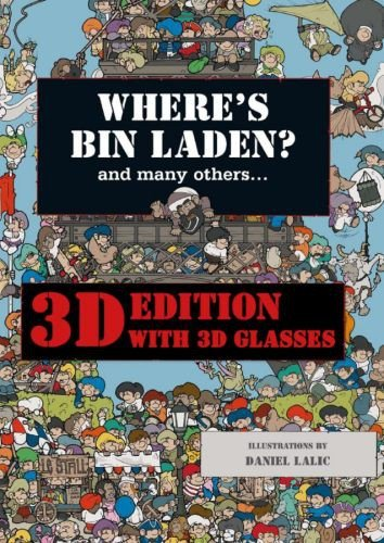 9781741109092: Where's Bin Laden? 3D Edition: With 3D Glasses