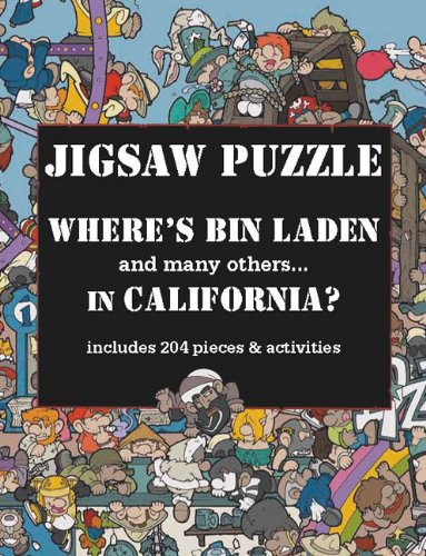 9781741109184: Where's Bin Laden in California? Jigsaw Puzzle: includes 204 pieces & activities