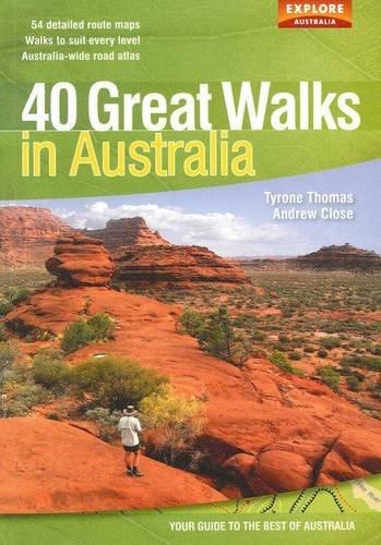 9781741172966: 40 Great Walks in Australia