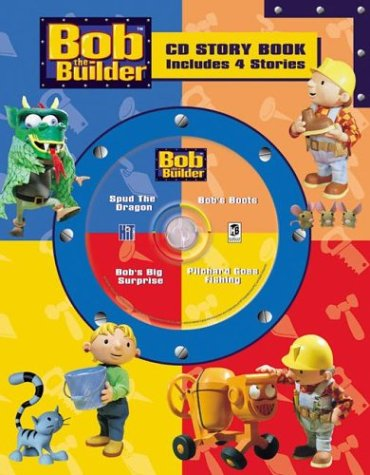 9781741210828: Bob The Builder Cd Story Book 4-In-1 (Bob the Builder Cd Story Book 4-In-1 Audio CD Read-Along)