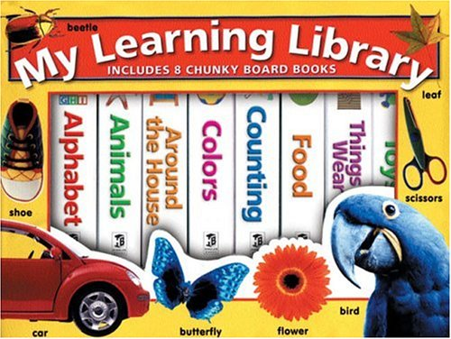 My Learning Library (Board Books): Hinkler Books