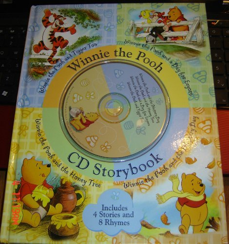 9781741214383: Disney's Winnie the Pooh CD Storybook (Includes 4 Stories and 8 Rhymes)