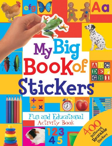 9781741218053: My Big Book Of Stickers